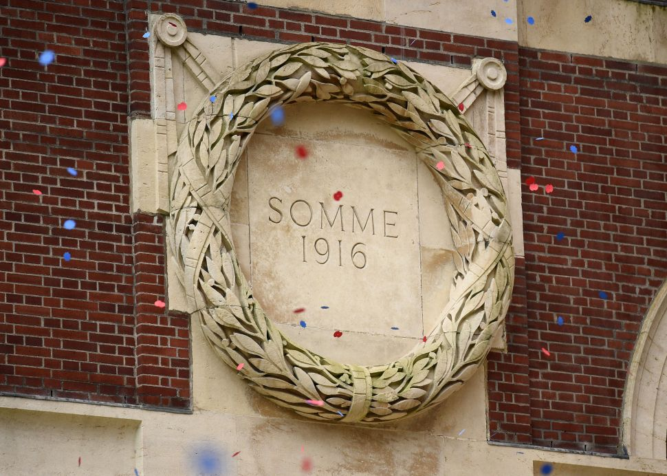 A 'Human Memorial' for the Historic Battle of Somme