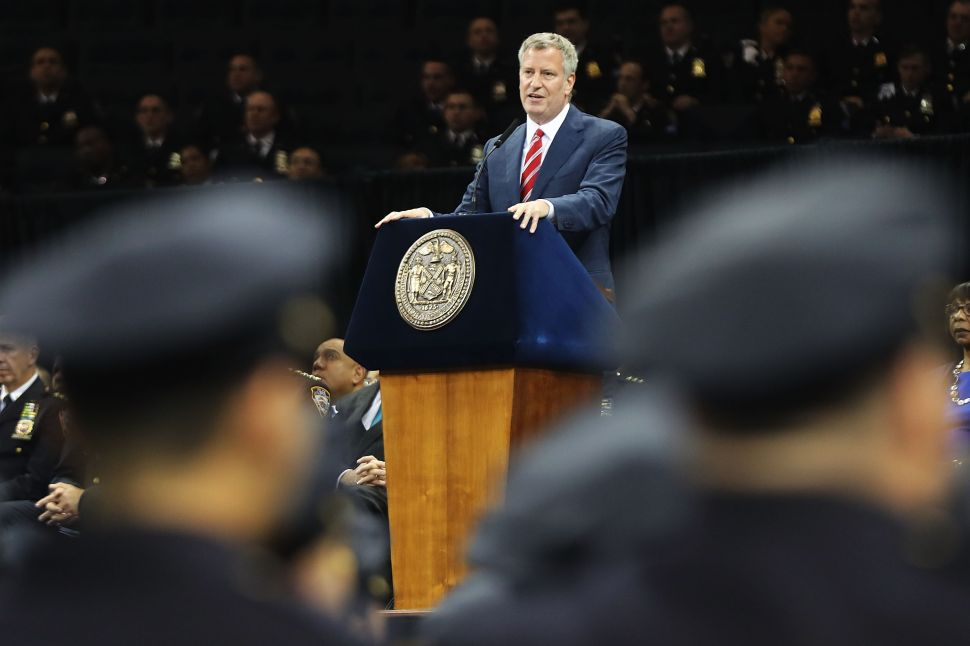 De Blasio: 'An Attack on Our Police Is an Attack on All of Us'