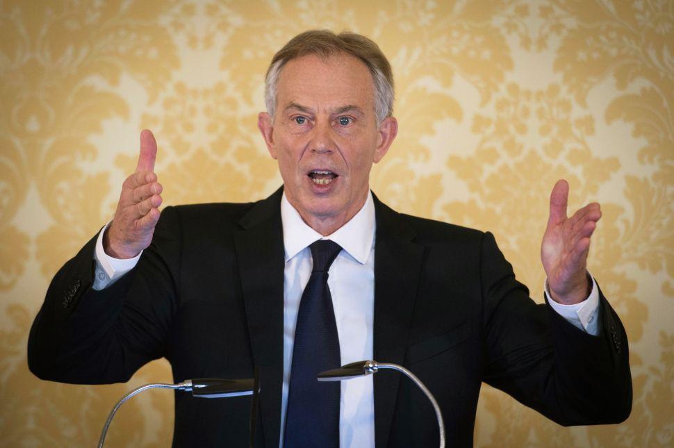 Tony Blair Refuses to Grovel