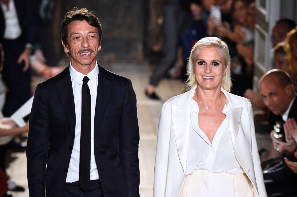 Valentino Confirms Maria Grazia Chiuri's Departure