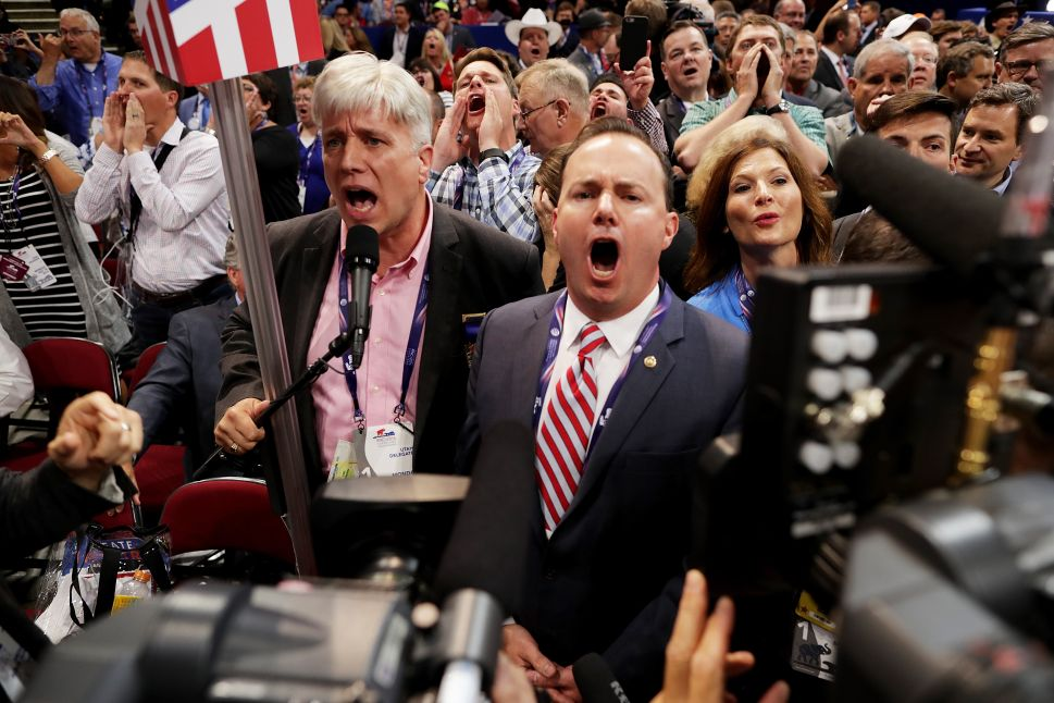 'Never Trump' Revolt Founders on Floor of GOP Convention in Cleveland