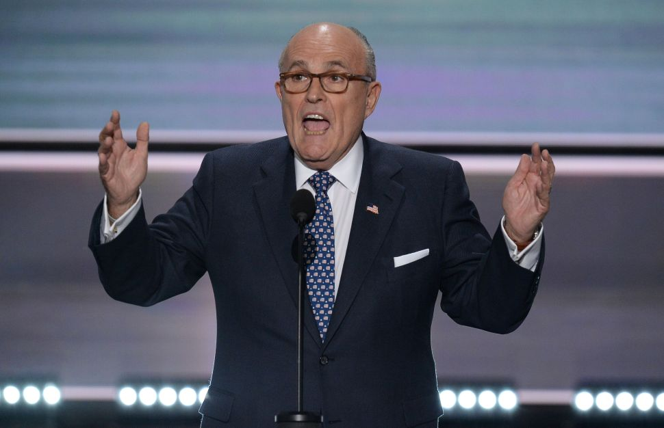 Rudolph Giuliani: 'What I Did for New York, Donald Trump Will Do for America'