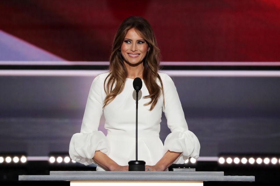 Melania Trump Introduces a Kinder, Gentler Donald Trump