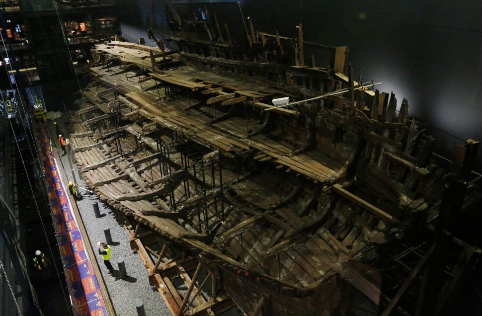 Henry VIII's Warship Goes on View, New Bill Would Block Export of Sacred Artifacts