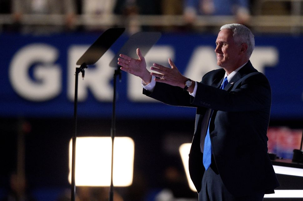 Mike Pence Accepts the Vice President Slot With a Very Un-Trump-Like Speech