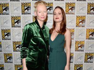 Tilda Swinton and Brie Larson