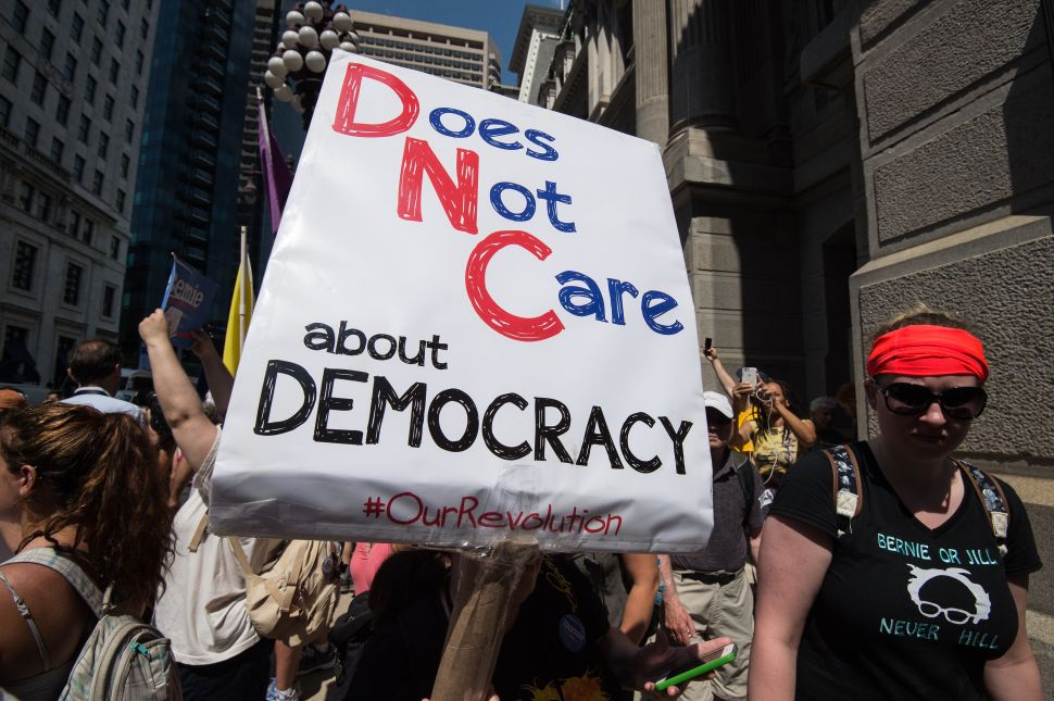 DNC Struggles to Unite as Sanders Supporters Revolt