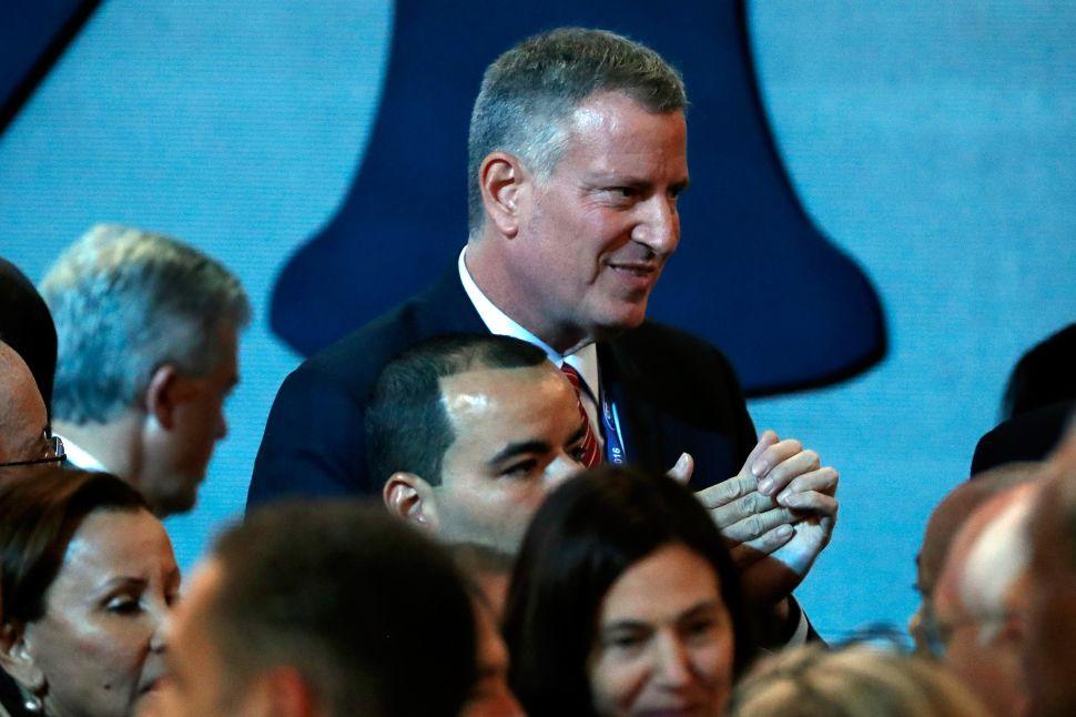 In Philly, de Blasio Calls Rivington Scrutiny Back Home 'Ridiculous'