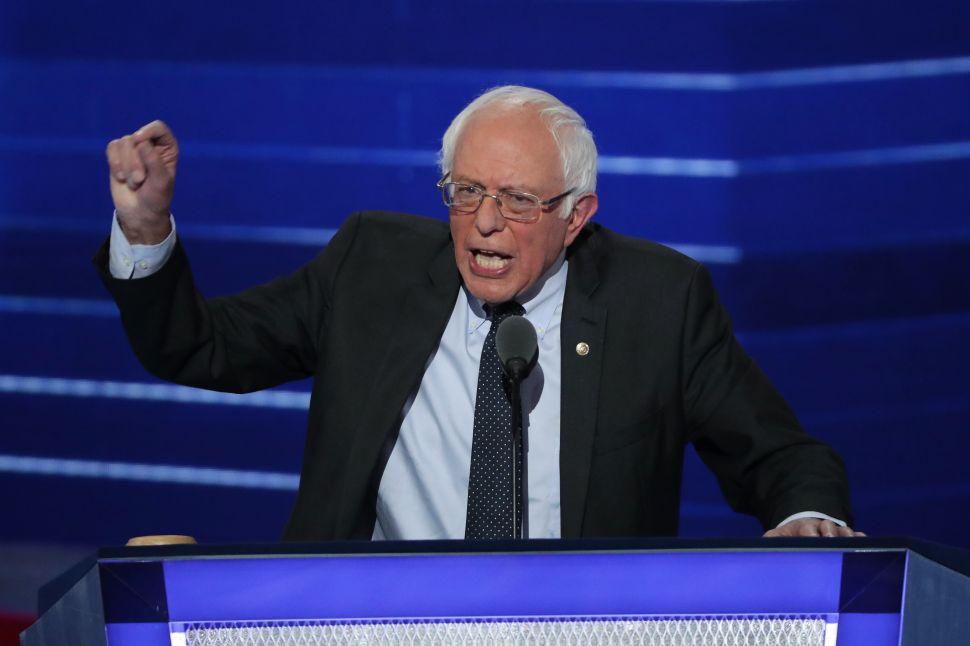 Bernie Sanders: 'Hillary Clinton Will Make an Outstanding President'