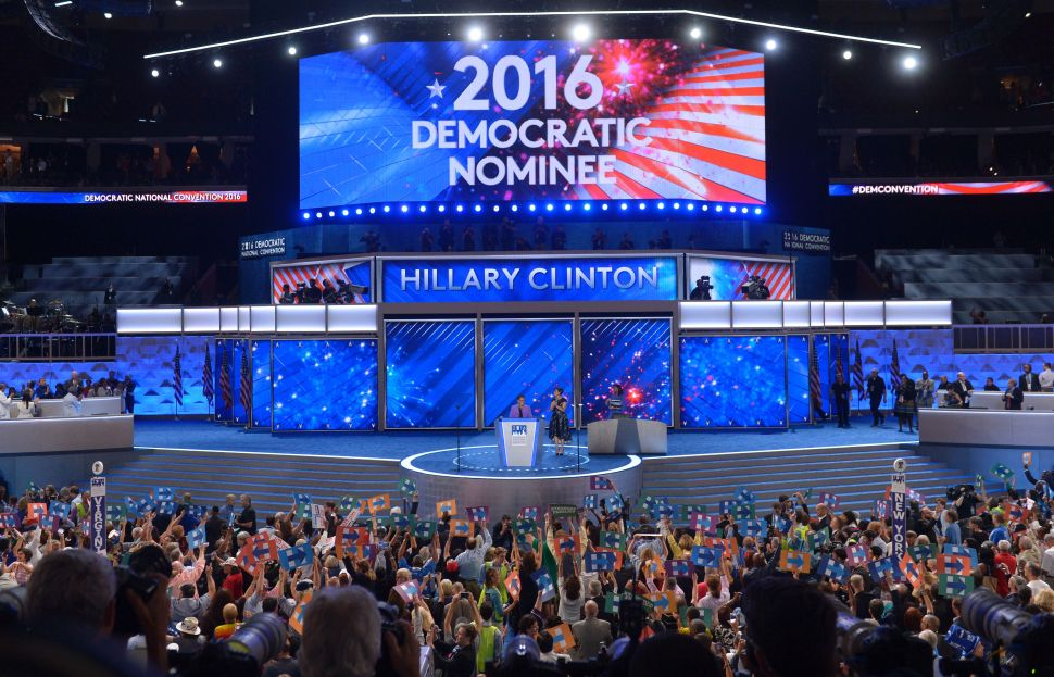 A Roll Call Makes It Official and Hillary Clinton Makes History as Nominee