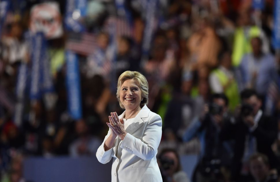 Hillary Clinton Accepts Nomination to Be President 'for All Americans, Together'