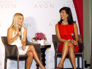 Perhaps Avon spokesperson Reese Witherspoon will visit Andrea Yung's new digs.