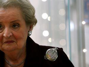Madeleine Albright pins