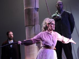 Minnie (soprano Stacey Stofferahn) saves the day at Apotheosis Opera