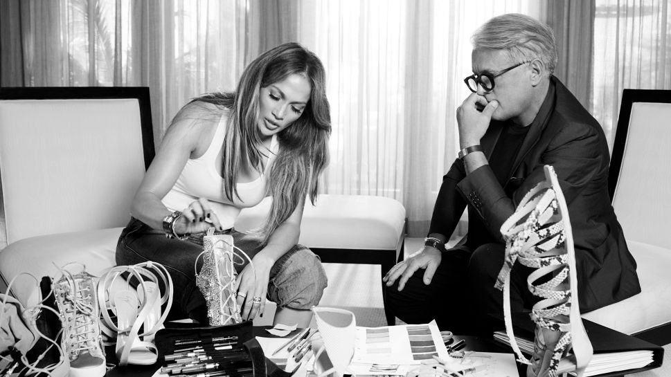 This Partnership Between J. Lo and Giuseppe Zanotti Makes So Much Sense