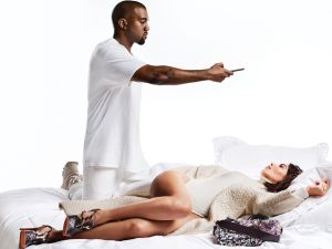 Kim and Kanye for Harper's Bazaar