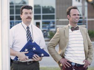 Danny McBride and Walton Goggins in Vice Principals.