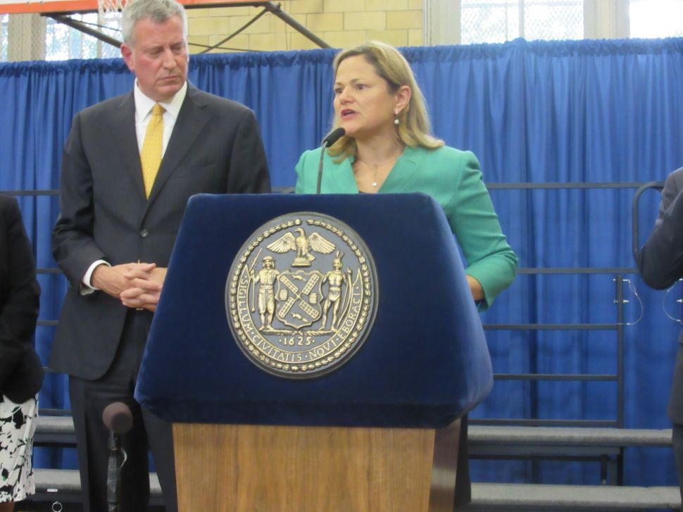 Mark-Viverito Says She's Been 'Transparent and Responsible' on Police Reform Bills