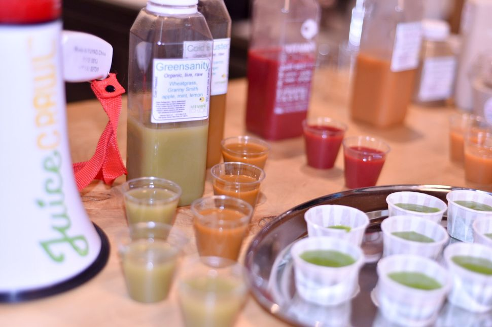 We went on a Juice Crawl