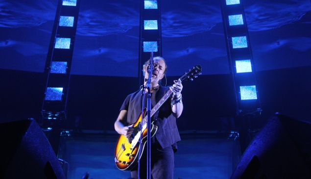 Thom Yorke of Radiohead, Madison Square Garden, 07/26/16