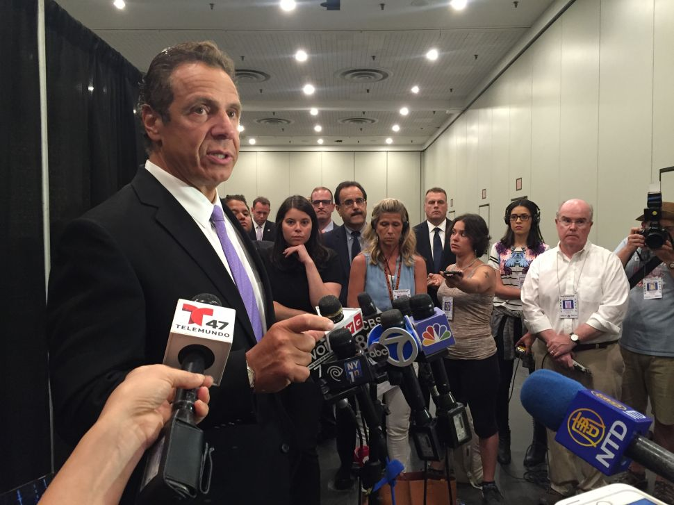 Andrew Cuomo Won't Weigh in on Chris Christie's Trial of Hillary Clinton