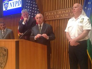 Police Commissioner Bill Bratton speaks about the shooting in Dallas last night that claimed the lives of five police officers.