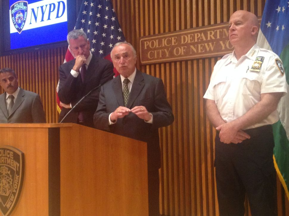 Bratton Says 'No' to Trump Meeting With NYPD