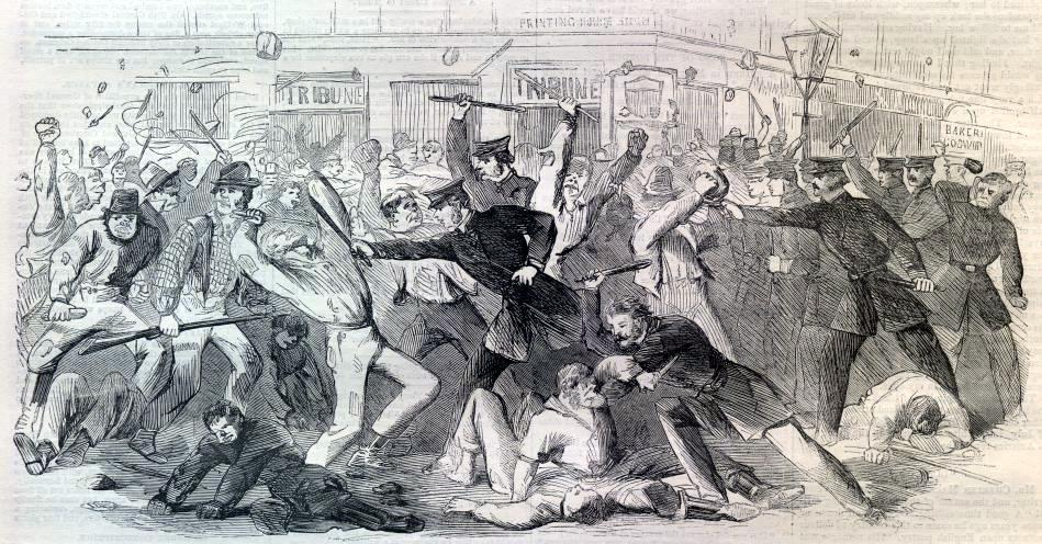 White Riot: Why the New York Draft Riots of 1863 Matter Today