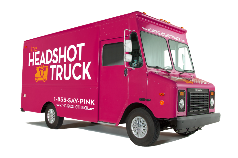 'The Headshot Truck' Offers Professional Glamour Shots on Your Lunch Break