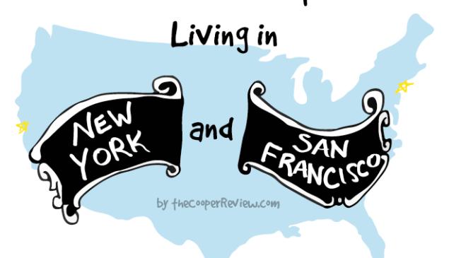 New York City vs. San Francisco