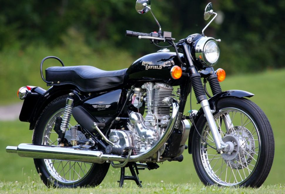 The Coolest Cafe Racer: Royal Enfield Bullet 350 Twinspark