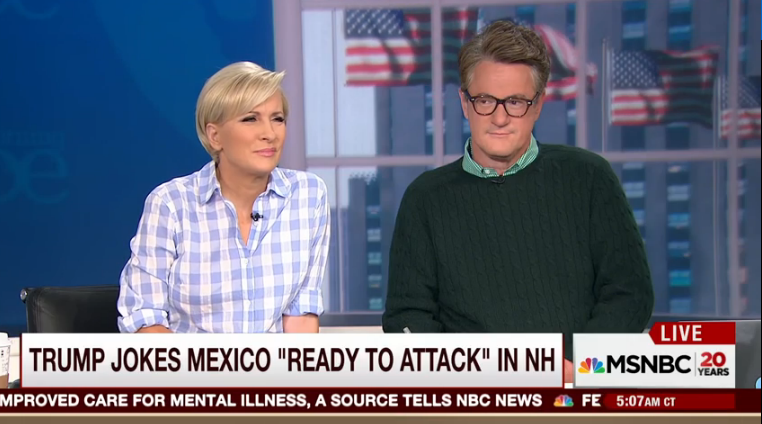 Scarborough Says It Twice: Trump's 'Stupidity Is Breathtaking'