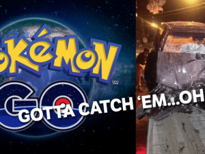 Careful where you play Pokemon Go.