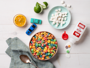 This 'Life in Color' cereal option is one of menu curator, Christina Tosi's favorite.