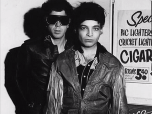 Martin Rev and Alan Vega.