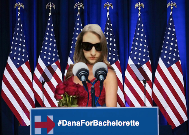 I, Dana Schwartz, Humbly Accept Your Nomination For Next Bachelorette