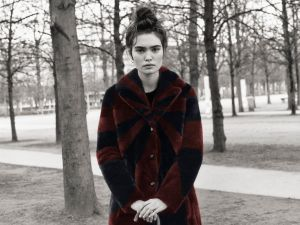 A fur coat from Beau Souci