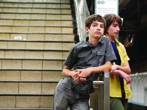 1. Michael Barbieri and Theo Taplitz in Little Men, a Magnolia Pictures release.