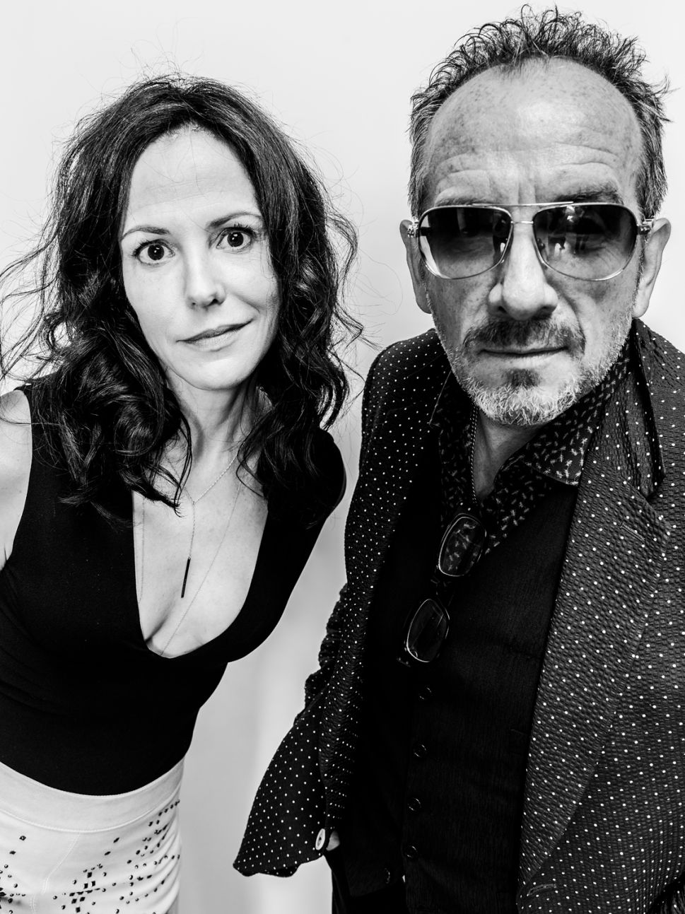 Elvis Costello and Mary-Louise Parker Sing Each Other's Praises in Brooklyn