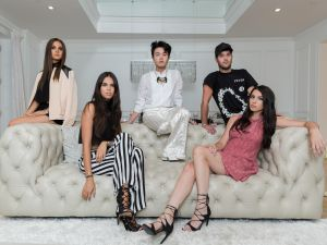 From left to right: Danielle Naftali, Reya Benitez, Ezra J. William, Andrew Warren and Alana Miller.