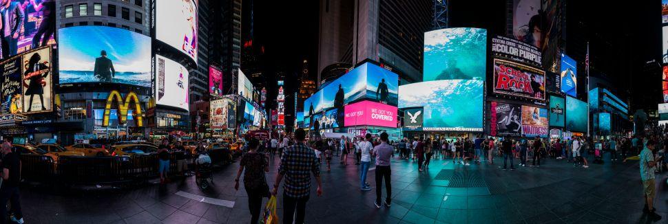 Times Square 'Midnight Moment' Artist Jherek Bischoff