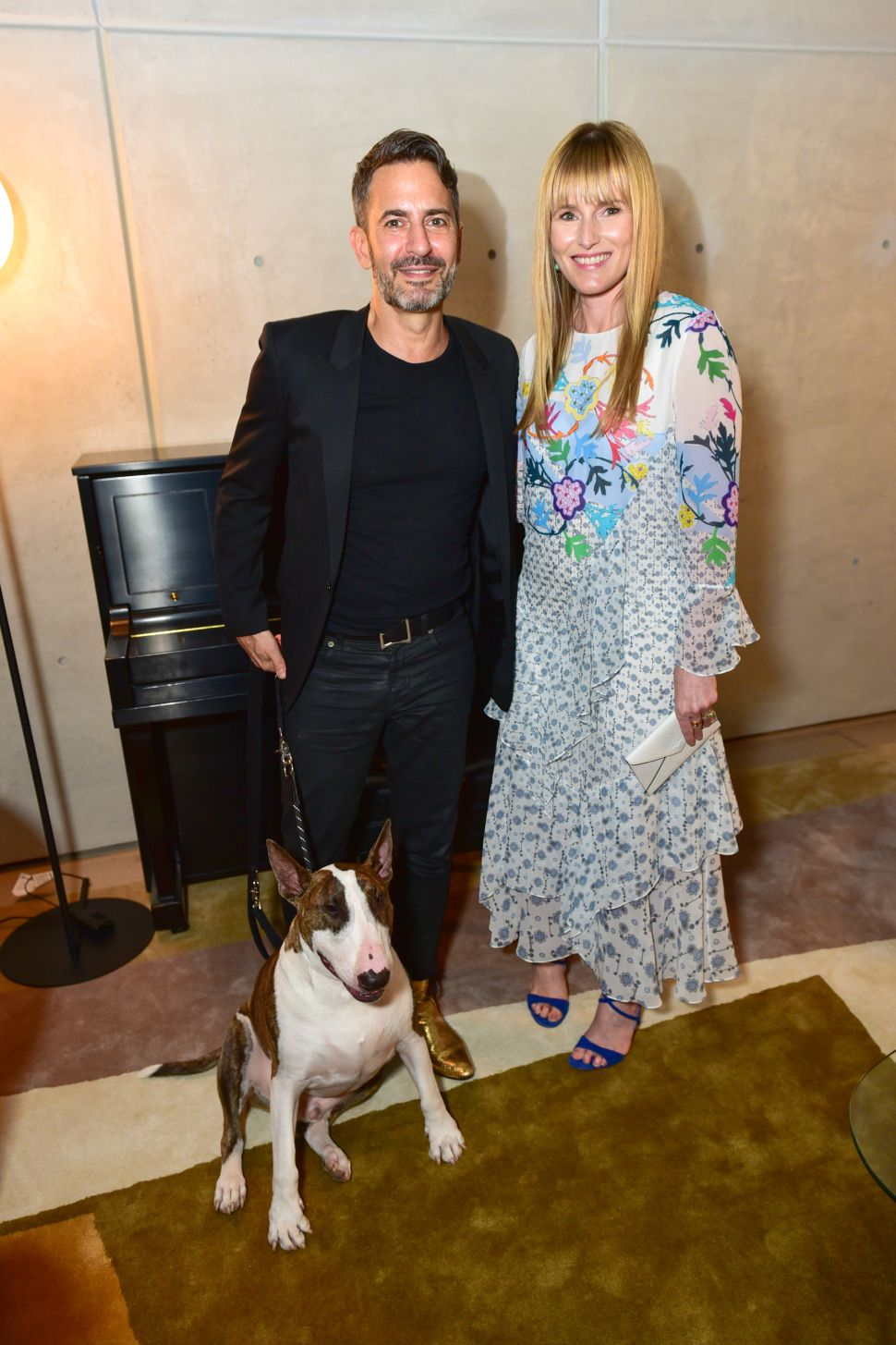 Marc Jacobs and His Dogs Celebrated Amy Astley Last Night