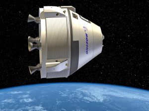 Illustration of the Boeing CST-100 Starliner