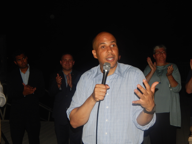 Eying Down-Ticket Victories, Monmouth County Dems Get Booker's Blessing