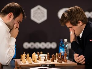 Reigning World Champion Magnus Carlsen hopes history will repeat itself at this November's chess championship.
