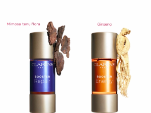 A trio of boosters offered by Clarins