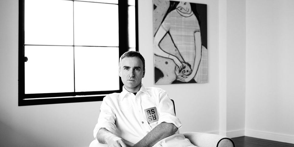 Calvin Klein Has Confirmed Raf Simons As Chief Creative Officer