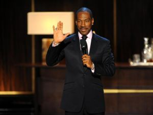 "Is Eddie Murphy ""delirious"" about social media? Definitely not."