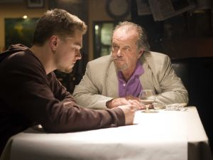 Leonardo DiCaprio and Jack Nicholson.