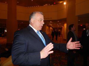 Senate President Steve Sweeney.